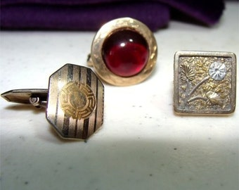 Buy 3 Get 1 FREE Vintage 1800's CUFF Buttons