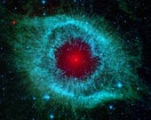 Dust and the Helix Nebula 12 x 12 inch Fine Art Astronomy Photograph