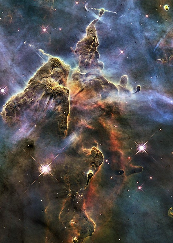 Mystic Mountain Nebula Painting (page 4) - Pics about space