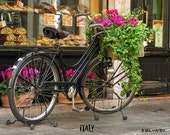 Bicycle and Pastry Shop
