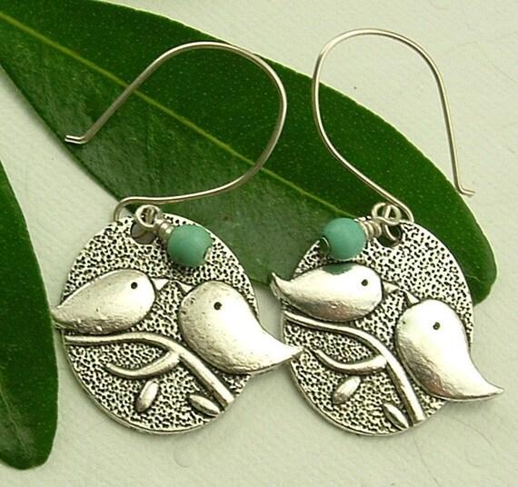 Jewelry - Bird Earrings, Bird Jewelry, Bird Dangle earrings, Ask Questions