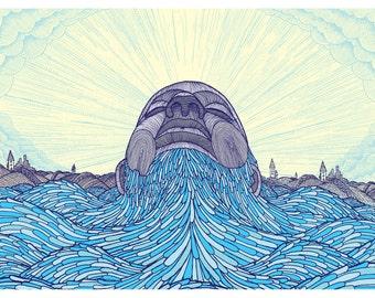 Ocean Face
