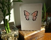Blank Greeting Card - Woman with Wings