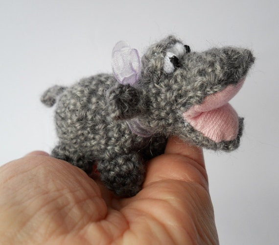 Amigurumi Wool : Amigurumi crochet animal hippo wool animal by ...