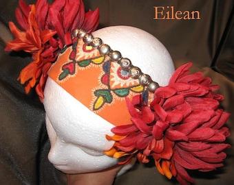 Tribal ATS Fusion Bellydance Headband, Eilean