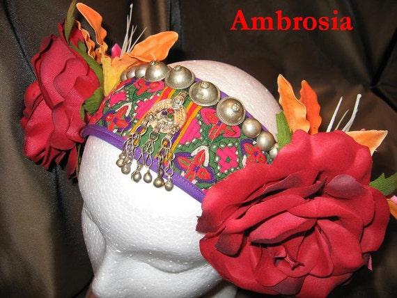 Tribal Fusion ATS Bellydance Headband, Ambrosia