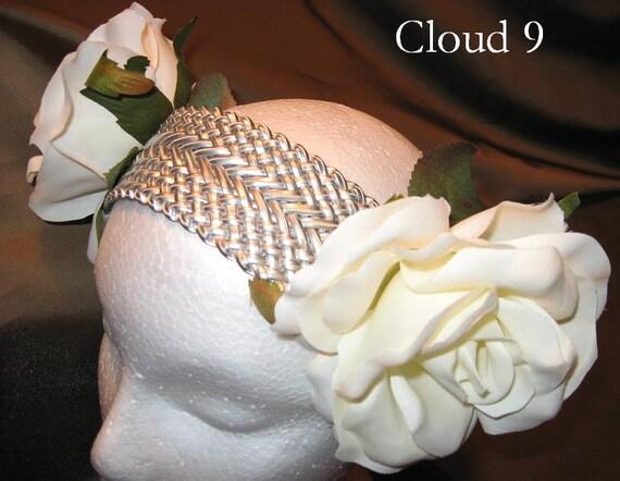 Tribal Fusion Bellydance Head band, Cloud 9