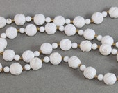 Avon necklace White and gold 1983 Avon Bermuda Necklace in the Box