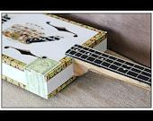 3-String 'Punch' Hollow-Body Electric Cigar Box Guitar