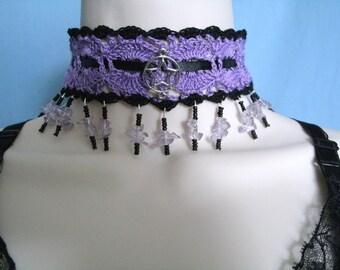 Victorian Choker Necklace, victorian jewelry gothic jewelry edwardian jewelry art nouveau art deco renaissance medieval neo victorian goth