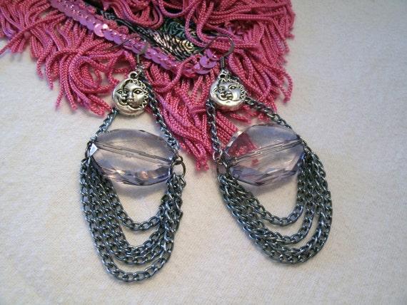 Celestial Charm Earrings, boho jewelry, gypsy jewelry, hippie jewelry. bohemian jewelry, moroccan, tribal, new age, ethnic, boho earrings