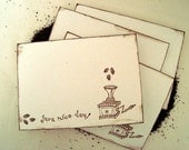 Java Nice Day Note Card Set