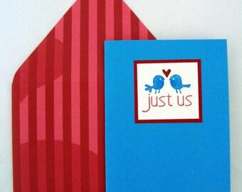 Just Us Notecard Set