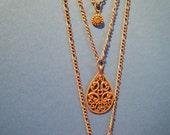 Warm Copper necklace