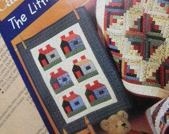 Log Cabin Scrap Quilt Pattern for Dolls