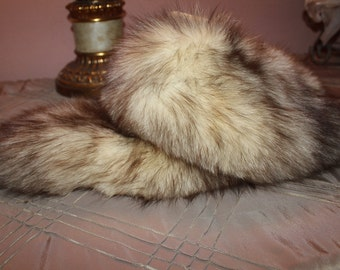 Fox Fur Collar Fall Fashion