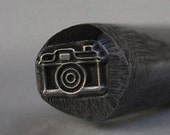 LARGE Vintage Camera Stamp--New 6 mm-Metal Stamping Tool-New Exclusive to Me-Perfect for Metal Stamping and Metal Work