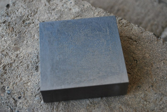 Steel Bench Block for Metal STamping- 2   1/2  x 2   1/2 -A Must Have For Metal Work