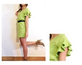 SALE - Rock n' Frill in lime green