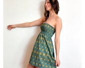 LAST ONE - Little Feather Love strapless dress