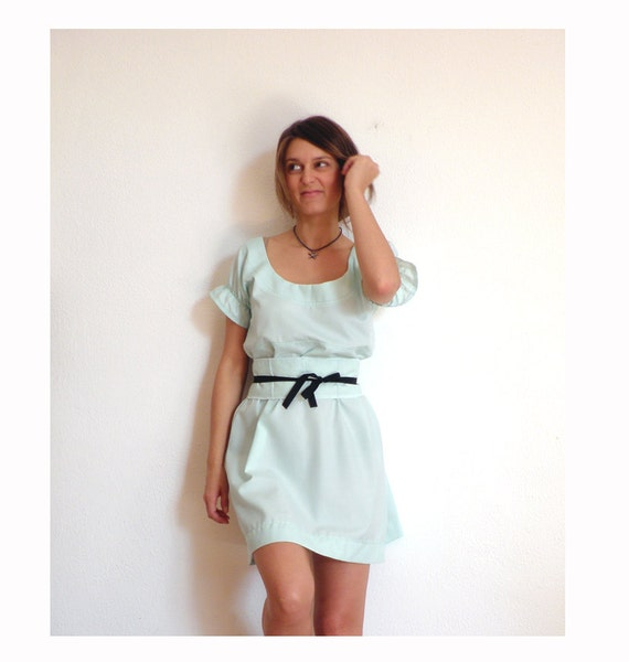 Reserved - TOTALLY COOL SALE Acqua little ball dress