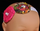 Newborn flower headband, great for photography prop