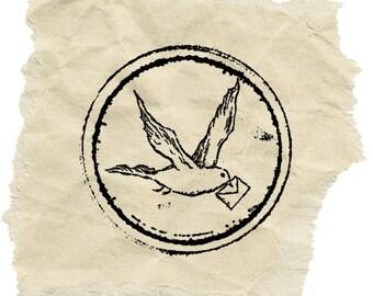 Antique Postmark Stamp C