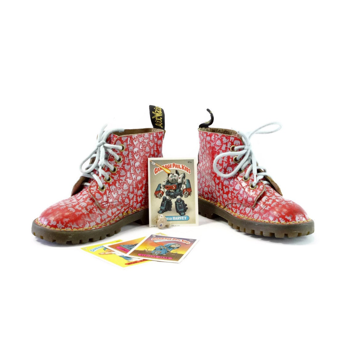 Baby Docs: Painfully Cute vintage Combat Boots for Kids.