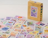 FREE SHIPPING with another item-New age deck of cards-playing cards -Cards of Wonder-Card game - Spiritual Game