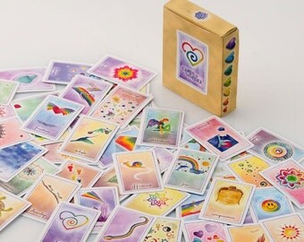 Free shipping with another item ~ New age deck of cards ~Spiritual playing cards ~ Cards of Wonder ~ Card game