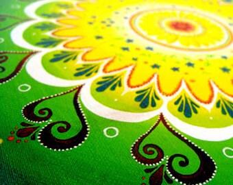 BLOSSOM-Original art ~ High quality giclee print ~ Mandala ~ Abstract nature art