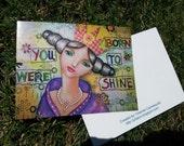 You were born to shine - Yolanda Carrasquillo - Beauty of Sorrow