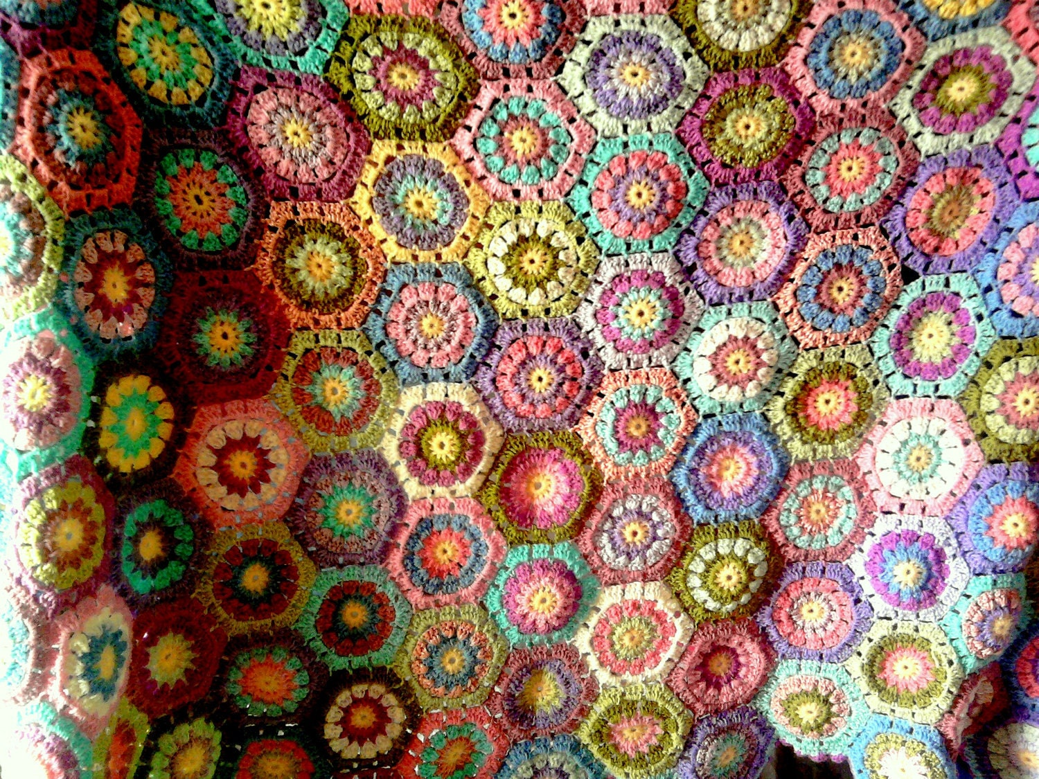 how to put together a granny square afghan