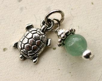 Fertility Charm, Gemstone Bead ADD ON, gift for IVF, fertility stones, ttc gift, Pregnancy jewelry, The Fertile Garden, Power Boost, gem
