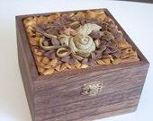 keepsake box with baby dragon