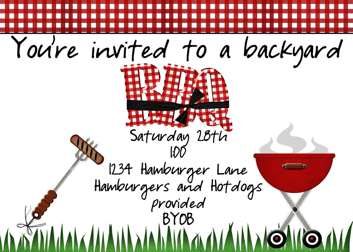 free bbq flyer templates word