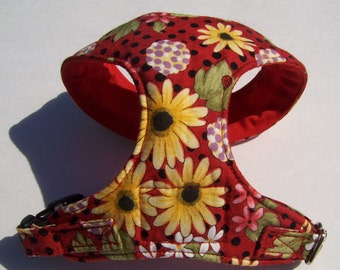 Comfort Soft Dog Harness for small dog Flower, (Last one).