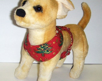 Comfort Soft  Harness for Small Dog Christmas Tree. - Made to order -