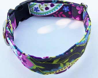 Adjustable Dog Collar. - Made to order - .