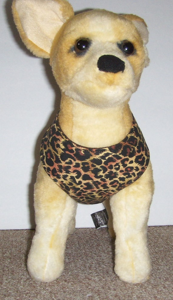 Comfort Soft Harness for small dog Leopard