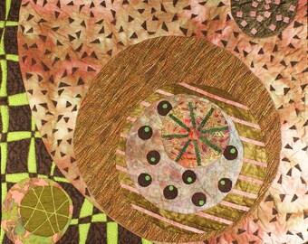 Handmade Art Quilt - DOODLE 2