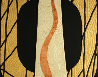 Handmade Art Quilt - Bronze Age
