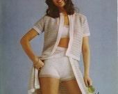 Knit Beach Outfit PDF Pattern 319 from WonkyZebra