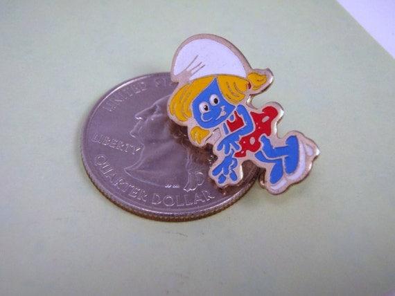 SALE Smurfs Smurfette Enamel Tack Pin