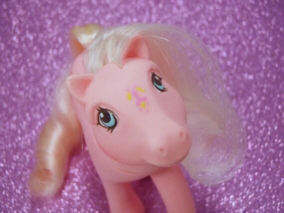 My Little Pony Flutter Ponies Honeysuckle G1 Pastel Pink MLP