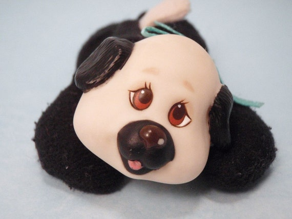 Puppy Surprise Dalmation Black and White Baby Pup Doggy Dog Pet Kitty
