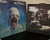 Vintage Scorpions 80s Vinyl Record-Black Out LP 1982
