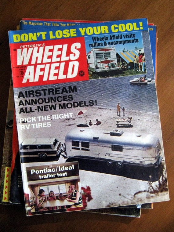 1968 Vintage Petersen's Wheels Afield magazine