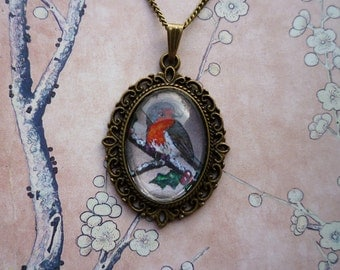 Little Robin Necklace