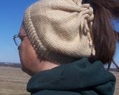 Ponytail Hat/Cowl